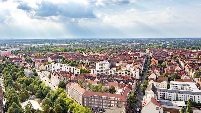 Luftbild Hannover Wasserstadt Limmer