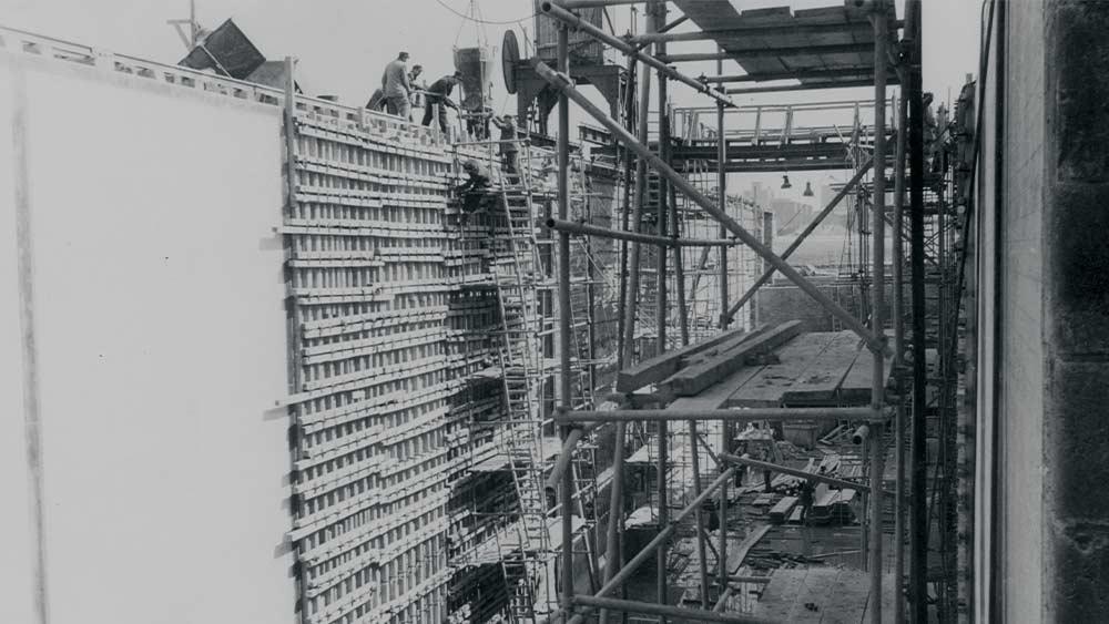Hafenschleuse 1963 Wasserstadt Limmer